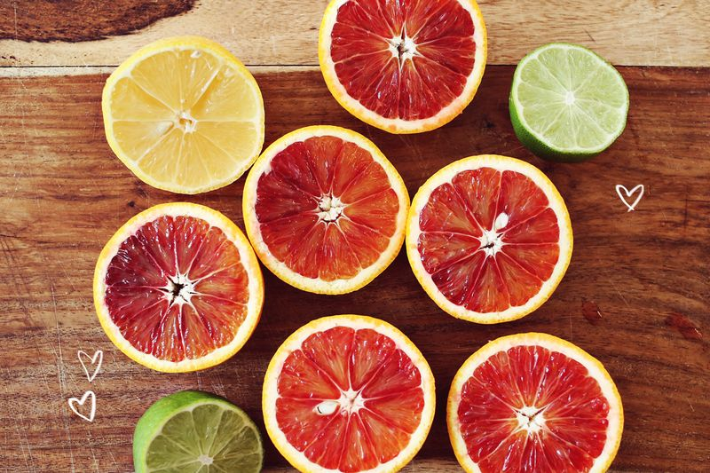 Blood Oranges- so delicious!