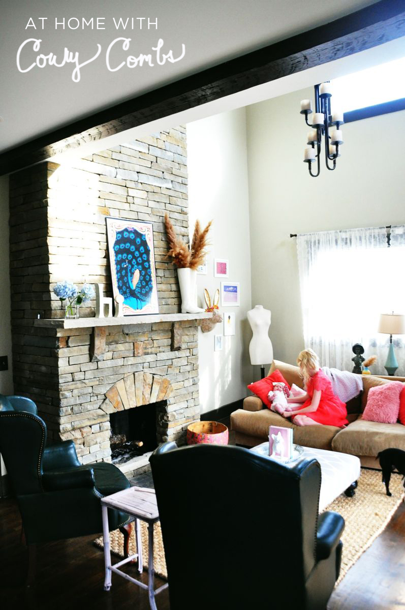 At Home With Coury Combs