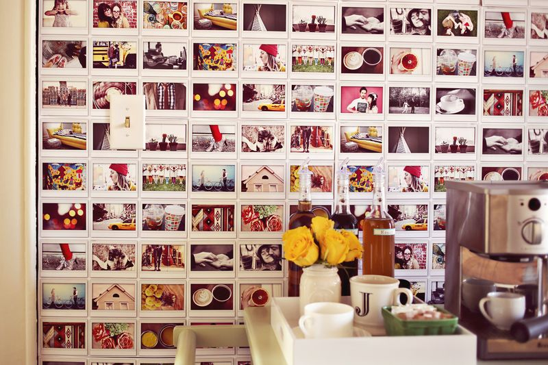 DIY Instax Wall (A Beautiful Mess)