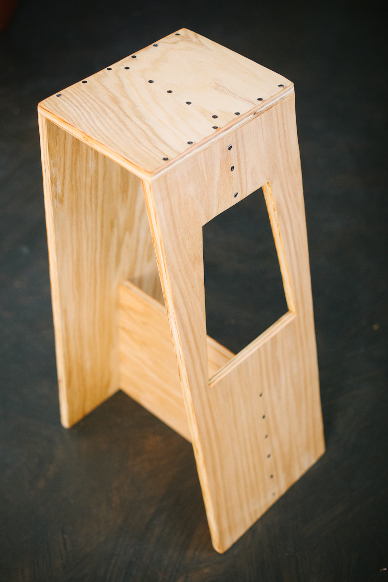 Josh Amp Sarah S Modern Stool A Beautiful Mess