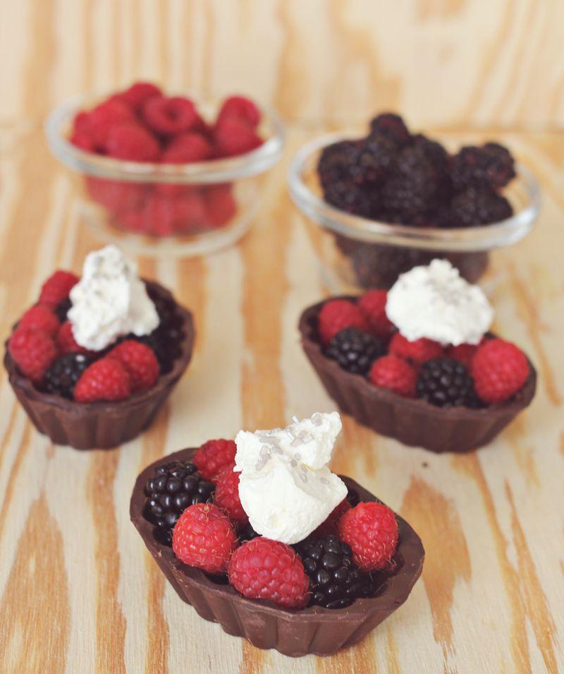 Easy to make valentine desserts