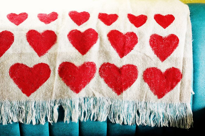 Heart Throw Blanket