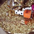 Gold Glitter Jewelry Dish Project - February 28, 2013