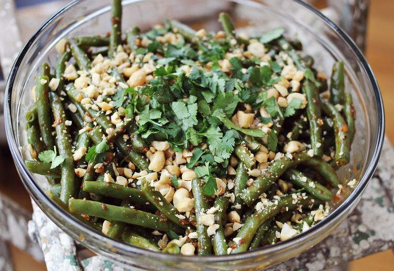 Thai Style Green Beans - A Beautiful Mess