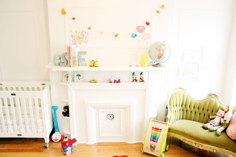 Love Taza: Rockstar Diaries nursery via A Beautiful Mess