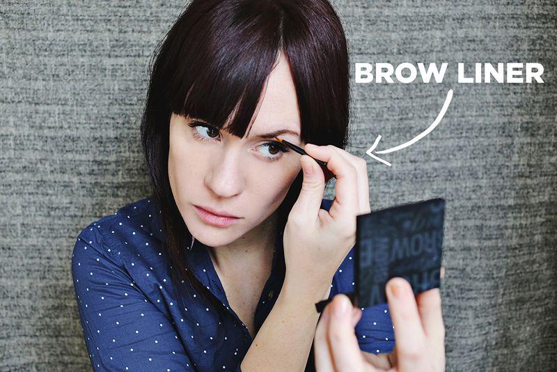 Brow liner