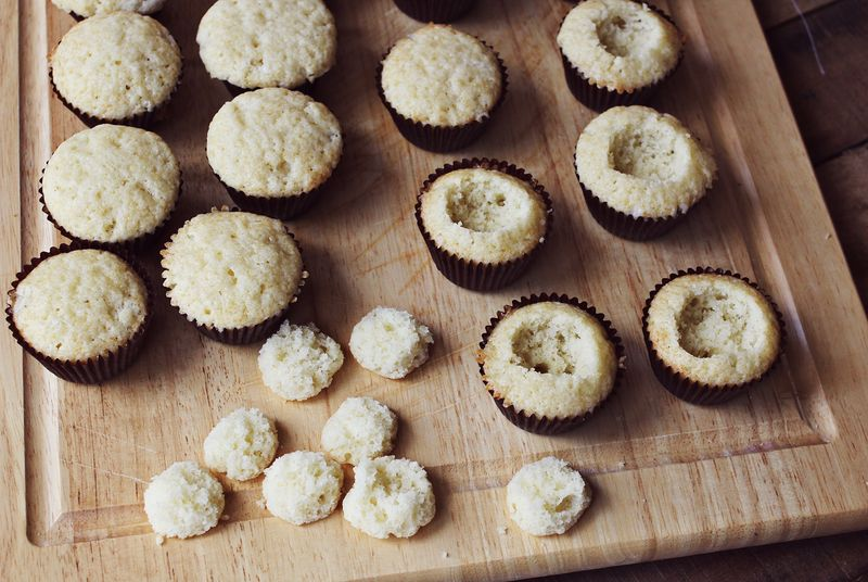 How to make filled cupcakes