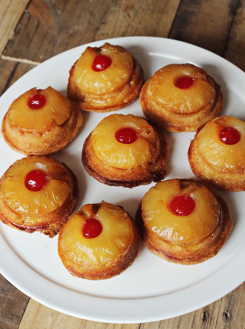 Pineapple Upside Down Cake With A Mix