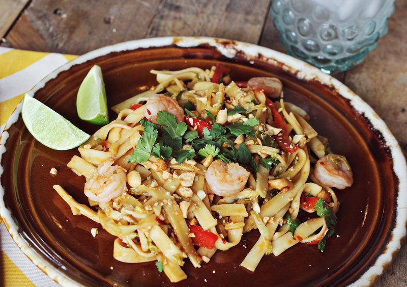 It's so easy to make pad thai at home!