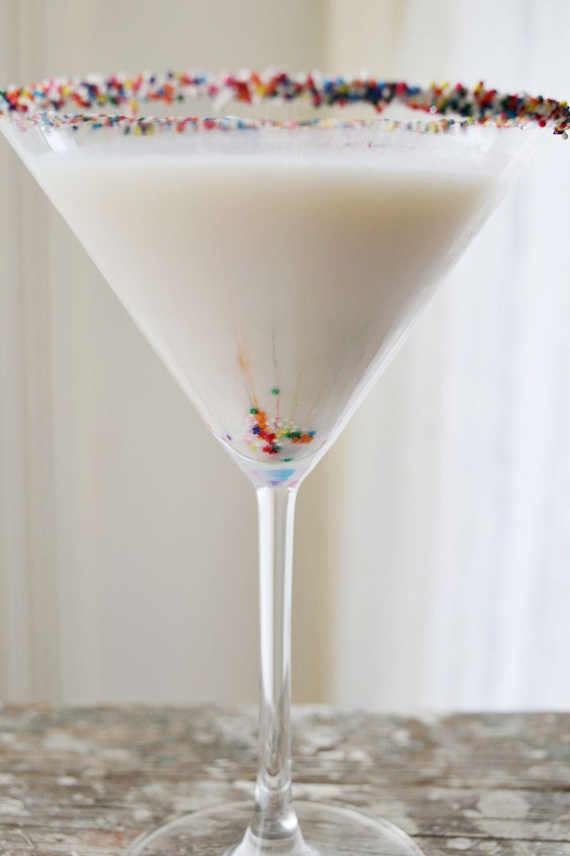Birthday Cake Martini A Beautiful Mess