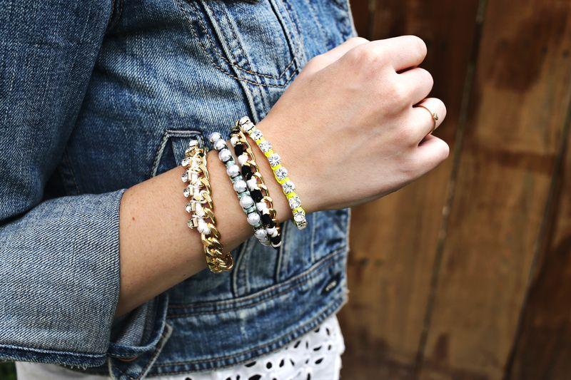 DIY Friendship Bracelets via A Beautiful Mess