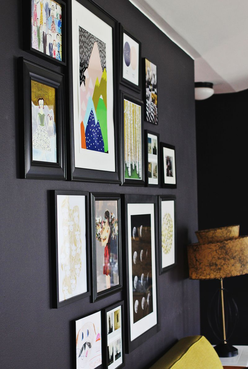 Tips for installing a gallery wall a beautiful mess How to make room attractive