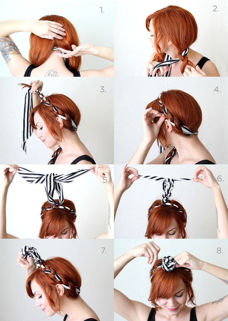 Fabric Maiden Braids Tutorial