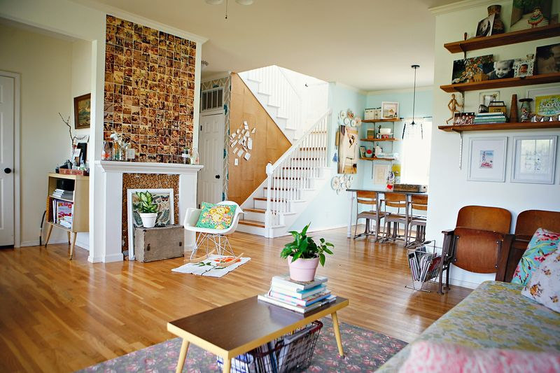 At Home With Ashley Campbell via A Beautiful Mess