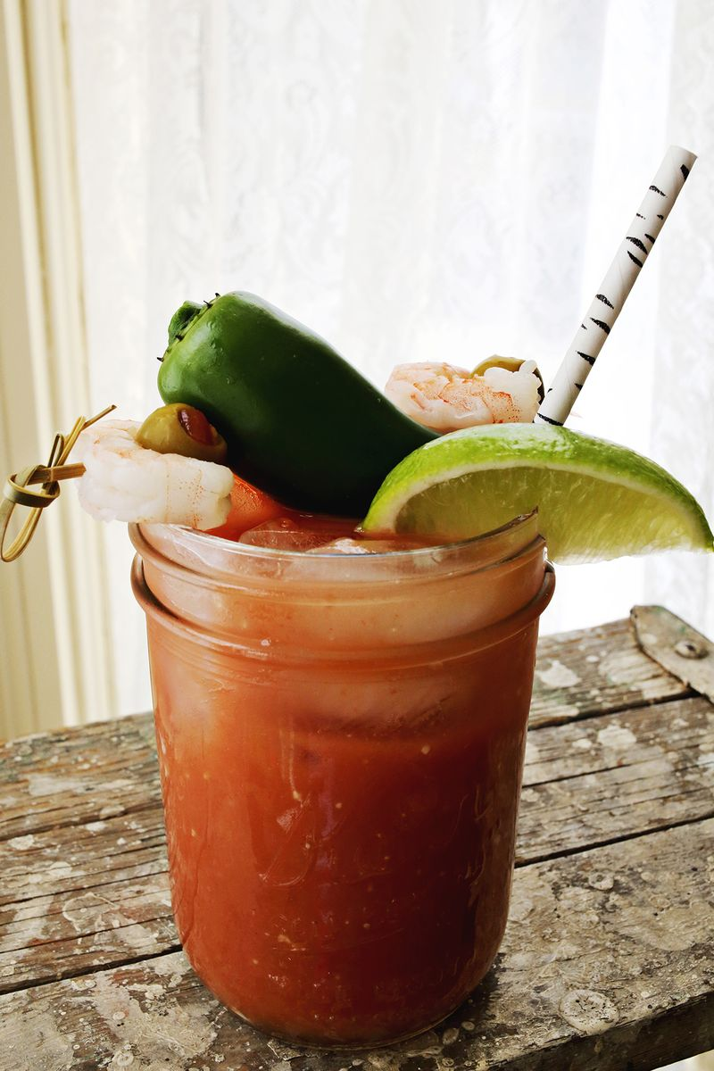 Jalapeno bloody mary