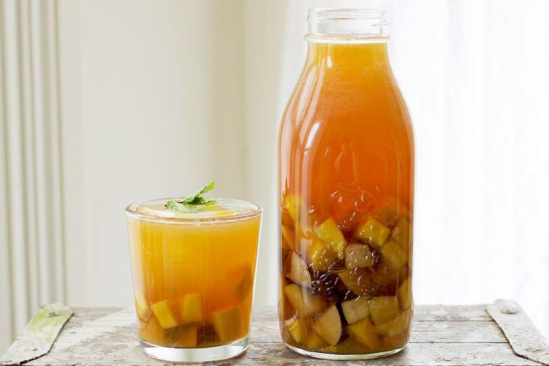 Mango and sweet plum