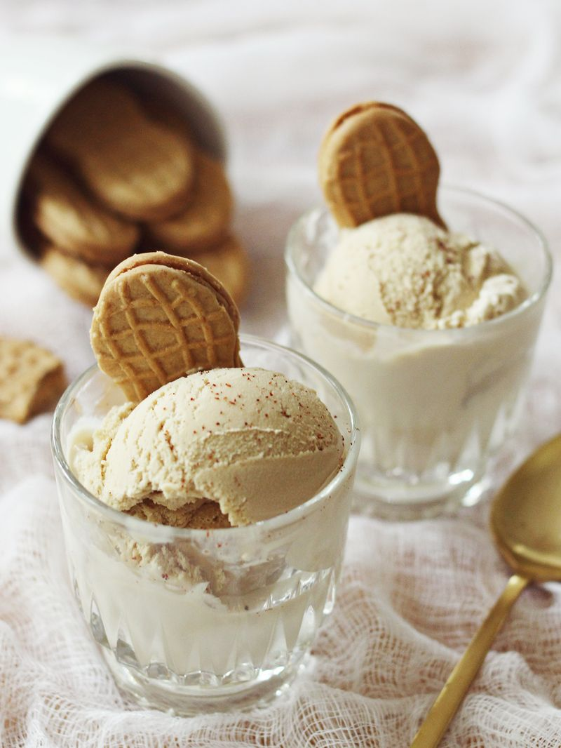 Thai spiced ice cream