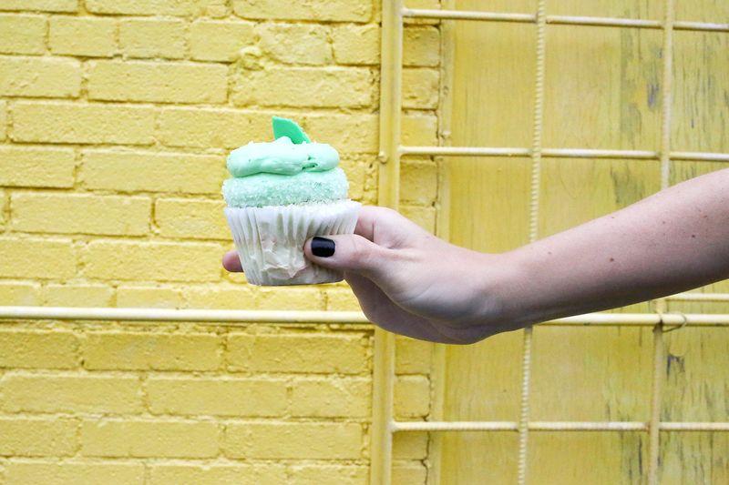 Mojito Cupcake!