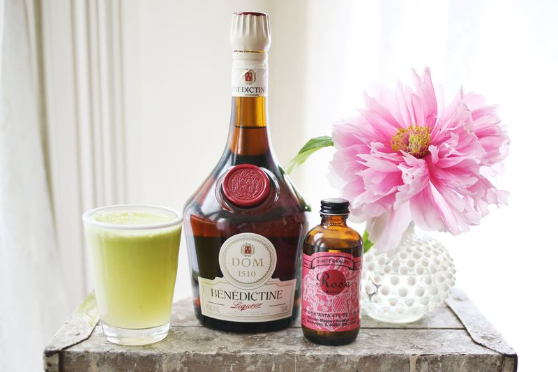 The Apple Flower Cocktail www.abeautifulmess.com