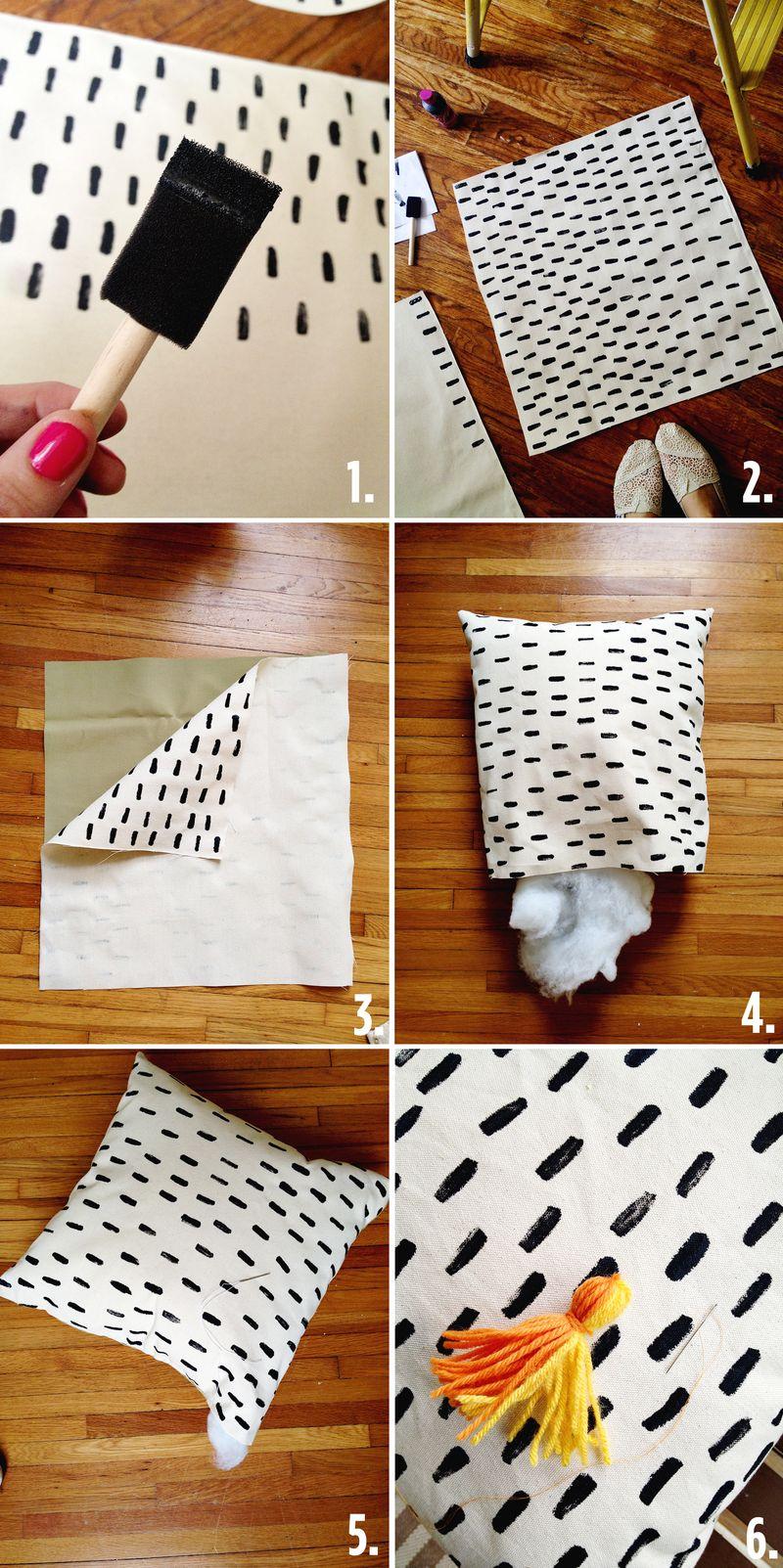Super Cute amp Quick DIY Porch Pillows A Beautiful Mess