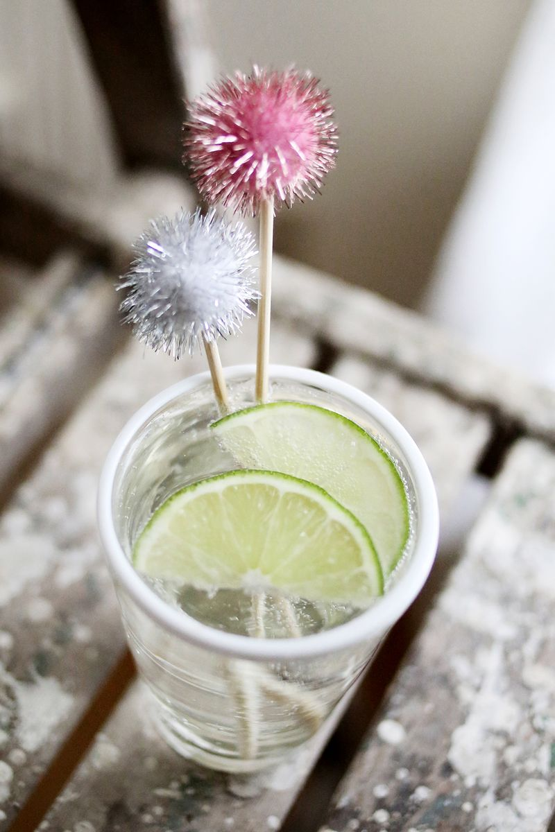 10 ways to make a cocktail stick 3 www.abeautifulmess.com