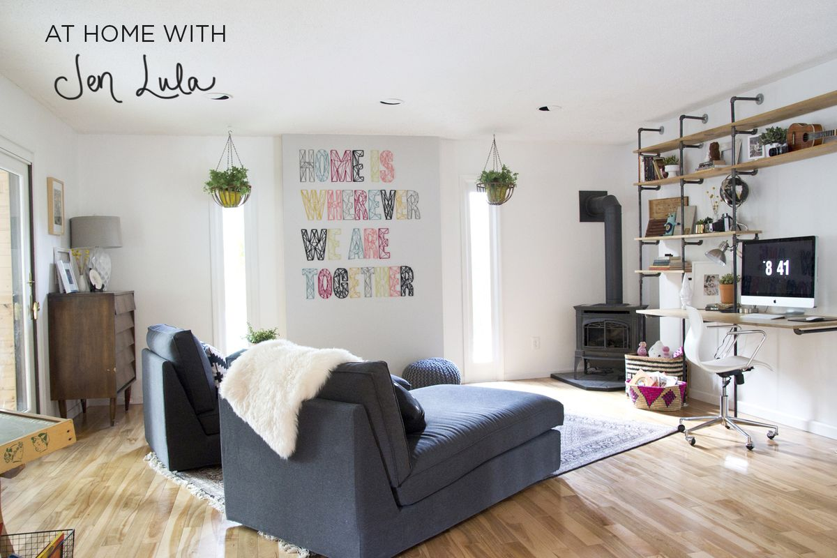 At Home With Jen Lula - A Beautiful Mess