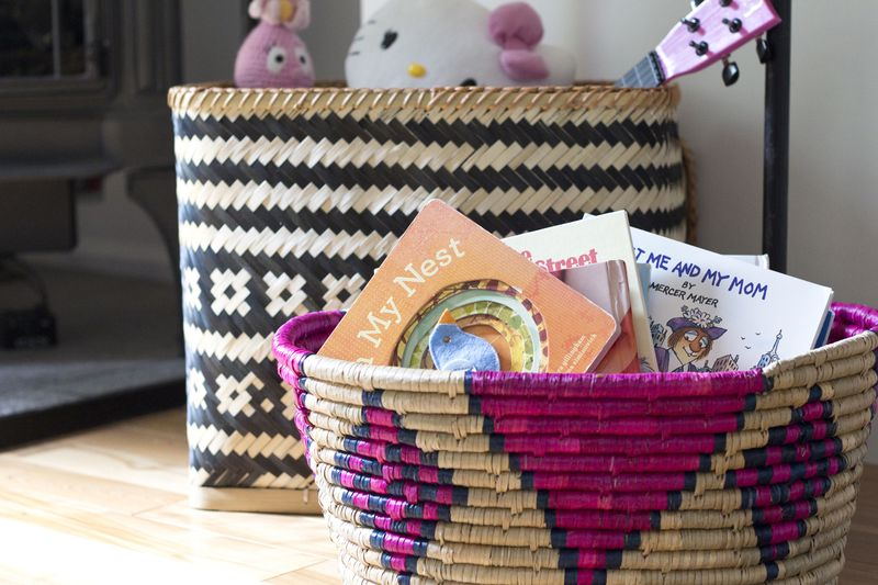 Pretty storage baskets