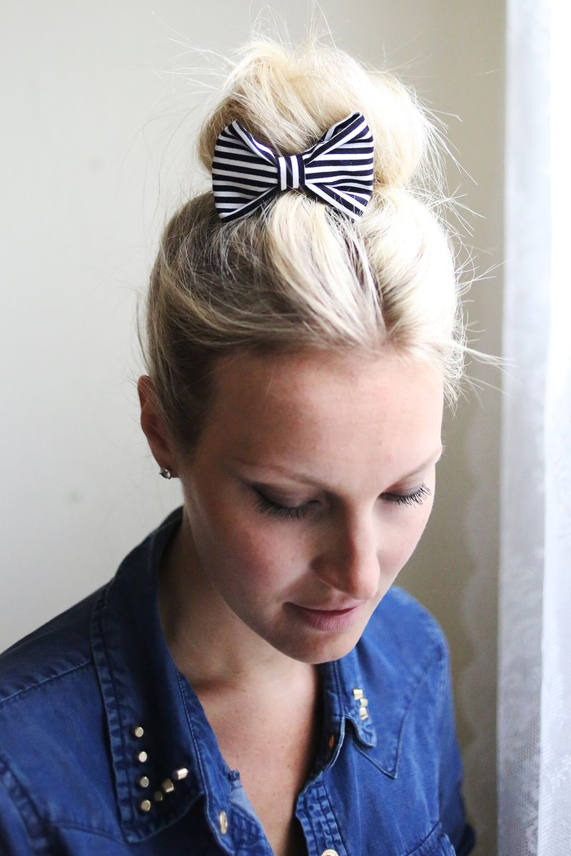 Let's Make Hair Clips! www.abeautifulmess.com