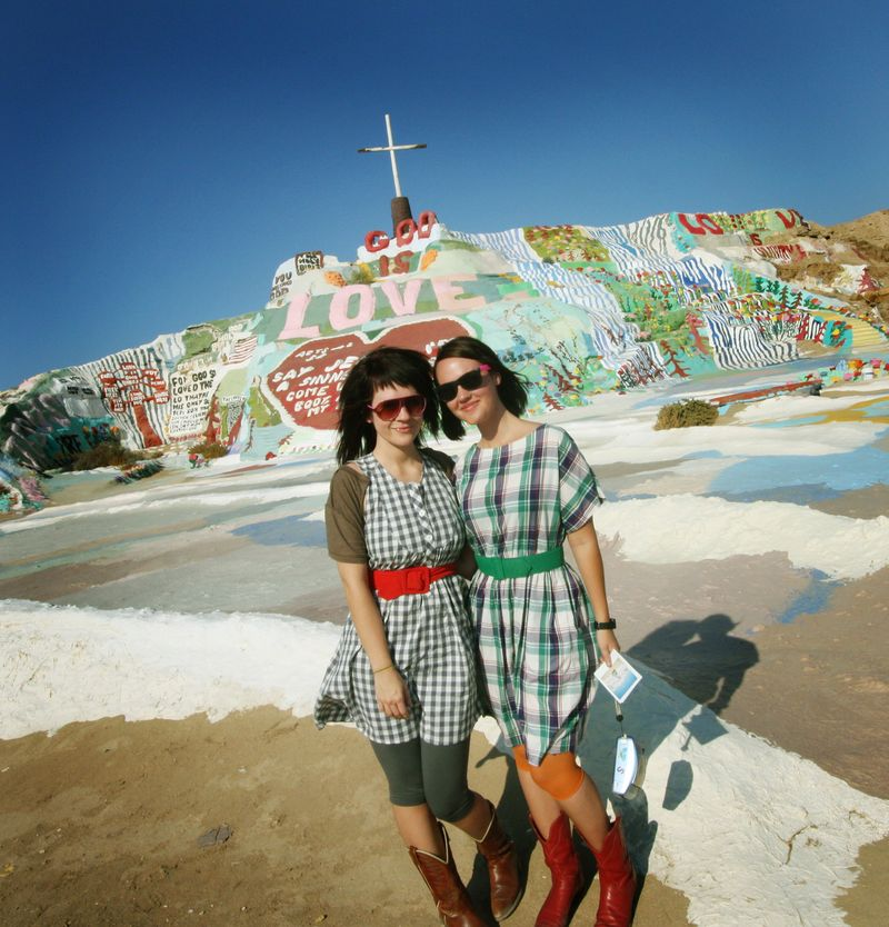 Salvation Mountain in 2008