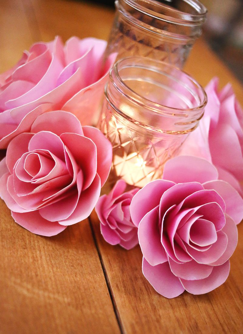How To Make Paper Flowers A Beautiful Mess