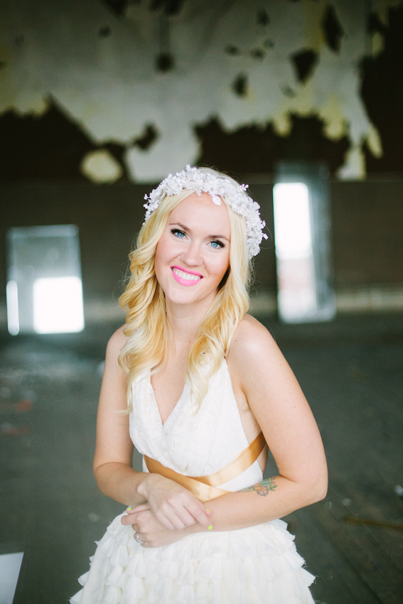 Emma's wedding portraits! www.abeautifulmess.com