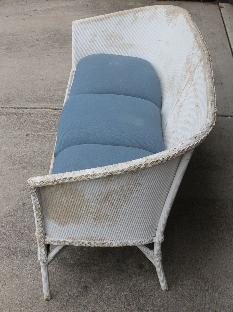 Outdoor couch restyle