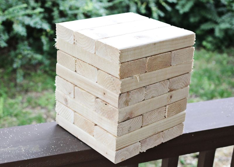 Charmant ... How To Build Your Own Giant Jenga
