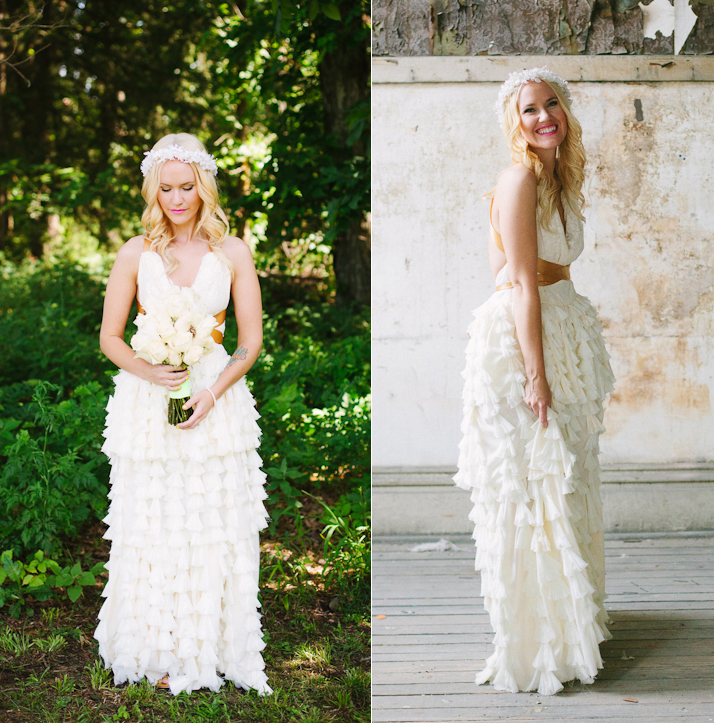 Emma's DIY Wedding Dress - A Beautiful Mess