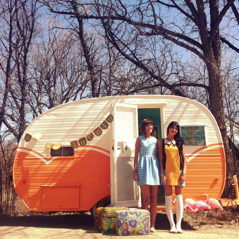 Oh So Lovely pop up trailer
