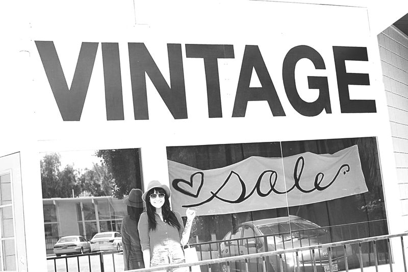 Vintage shopping in Palm Desert