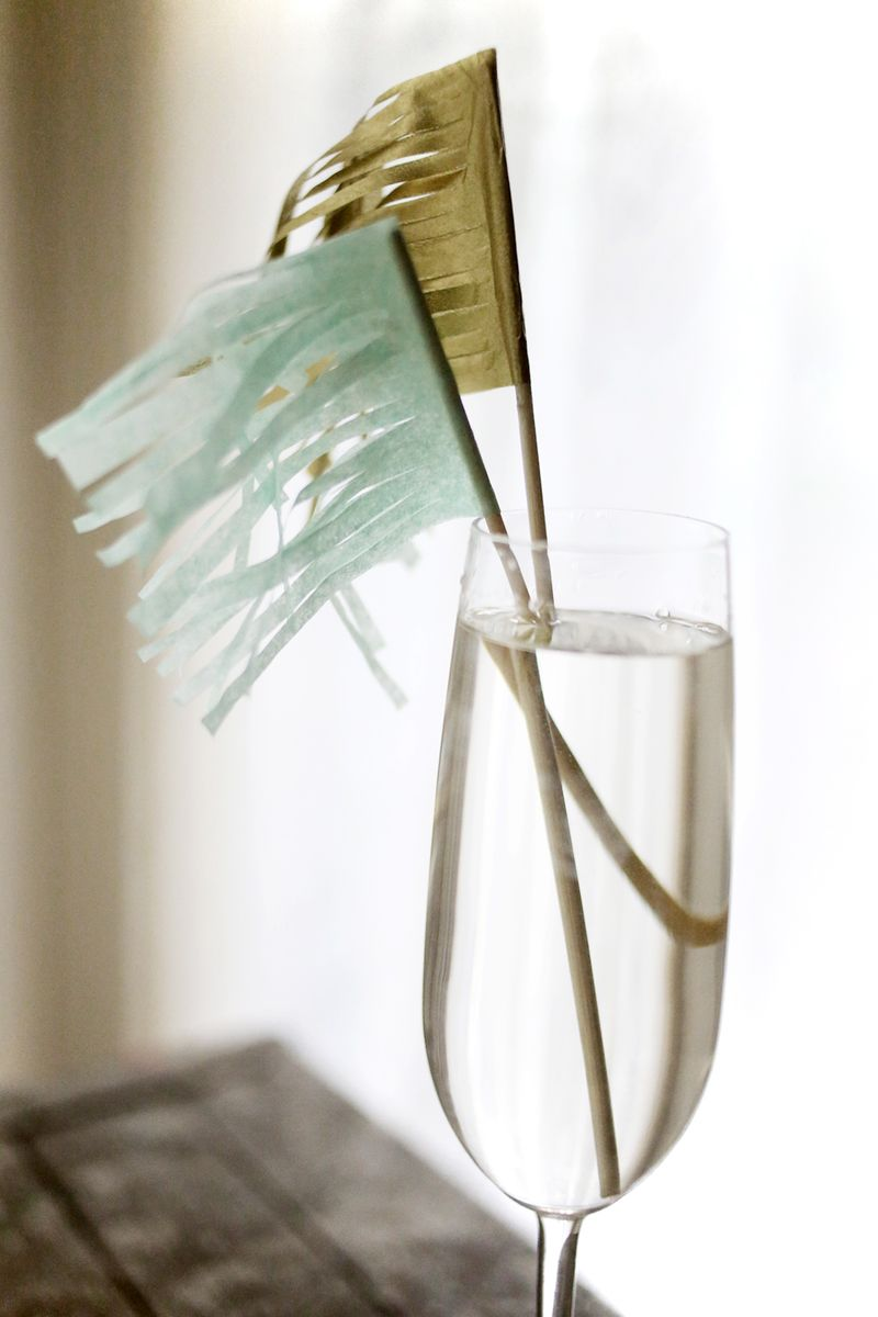 10 ways to make a cocktail stick 2 www.abeautifulmess.com
