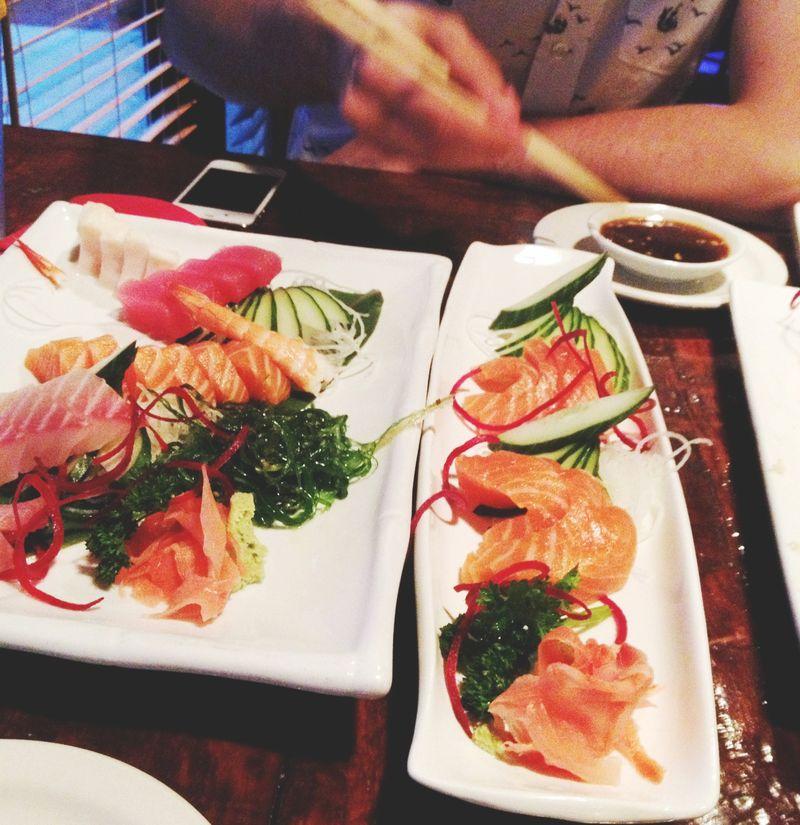 A sashimi date