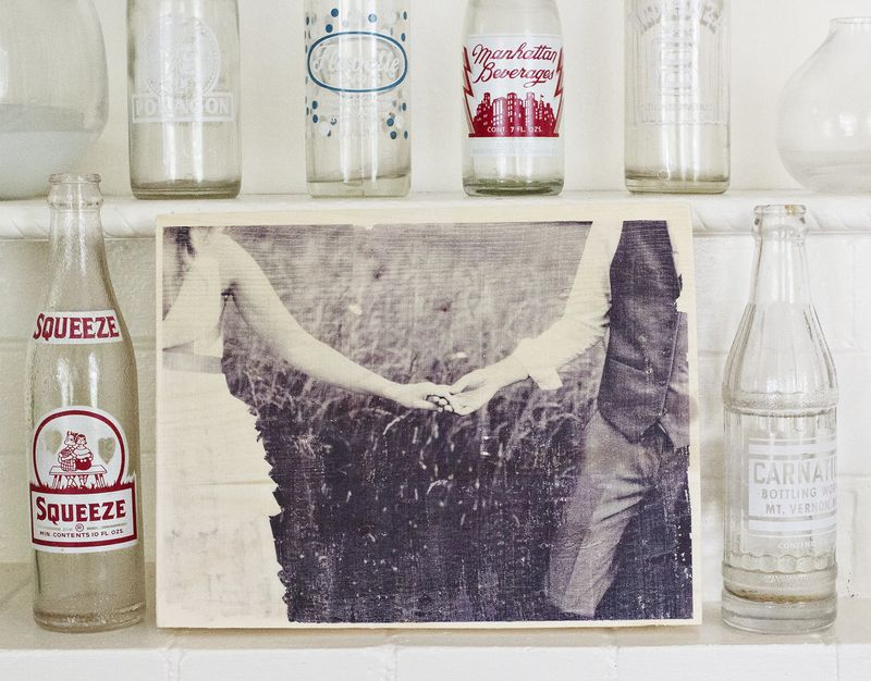 How to transfer a photo onto wood
