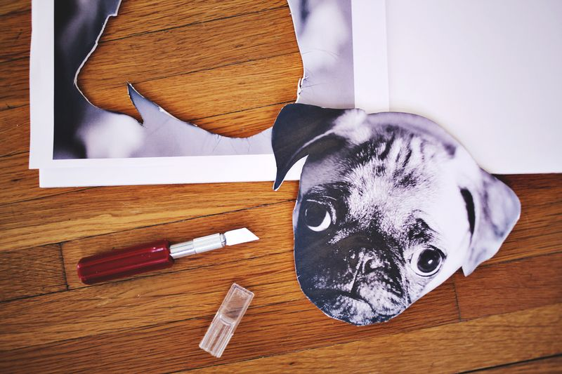 DIY Photo Wall Clock! www.abeautifulmess.com 4