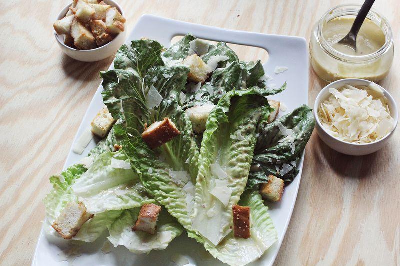 My favorite caesar salad www.abeautifulmess.com