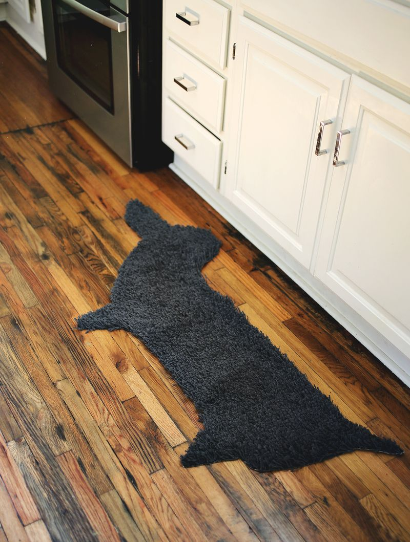 Make your own rug in ANY shape! 4