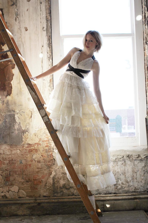 emma's diy wedding dress – a beautiful mess