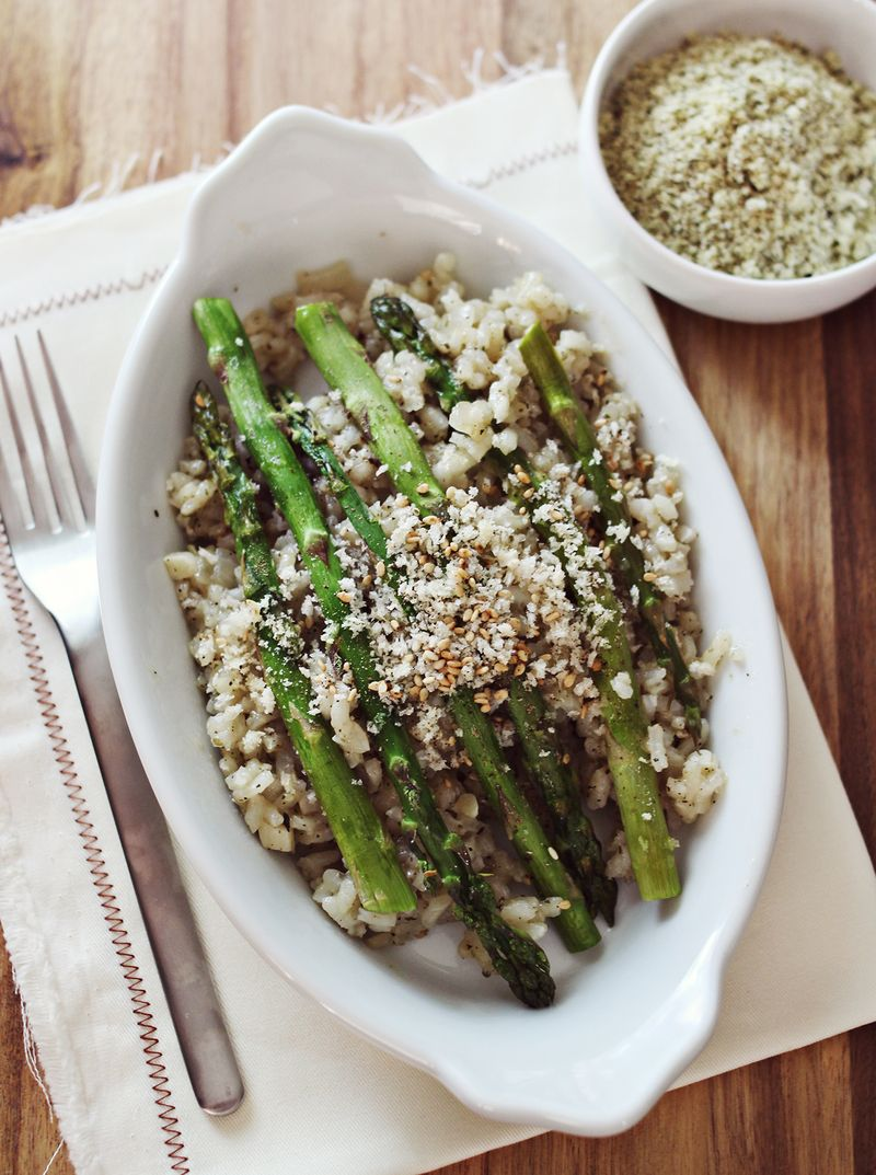 Easy baked risotto