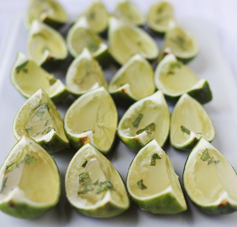 How to make jello shots in lime shells