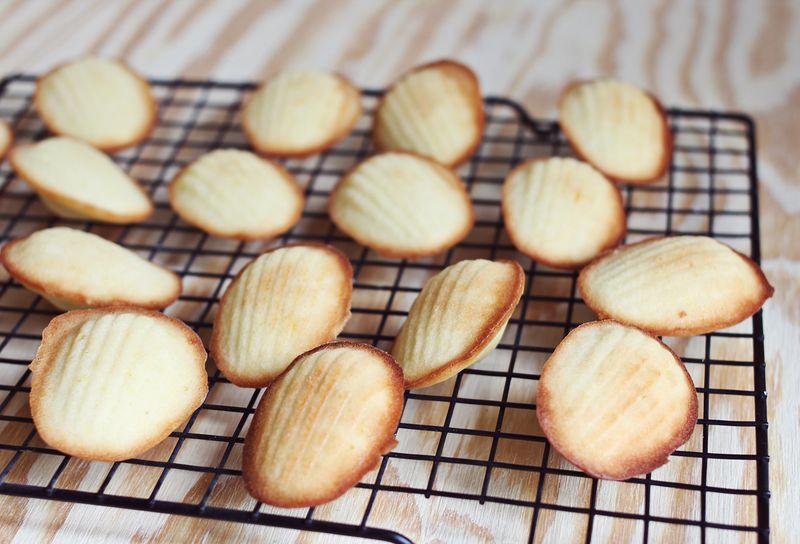 Easy madeleine cookie recipe