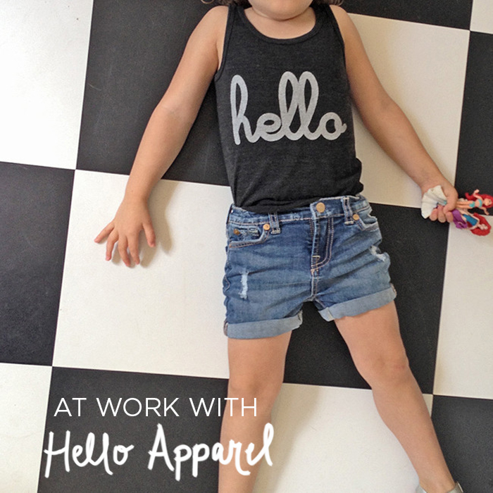 At Work With Hello Apparel via ABM