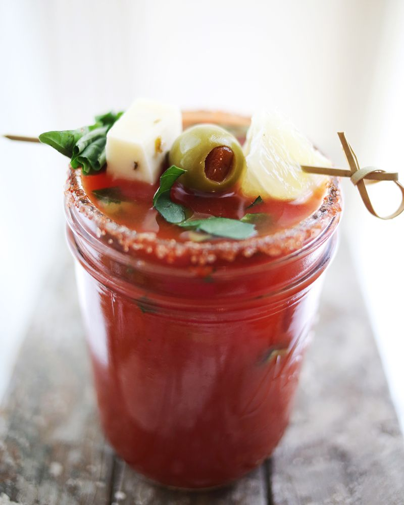Basil Bloody Mary