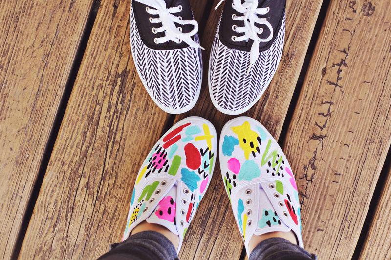 Diy tennis shoes