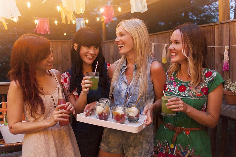 A Colorful Summertime Back Porch Party www.abeautifulmess.com 9